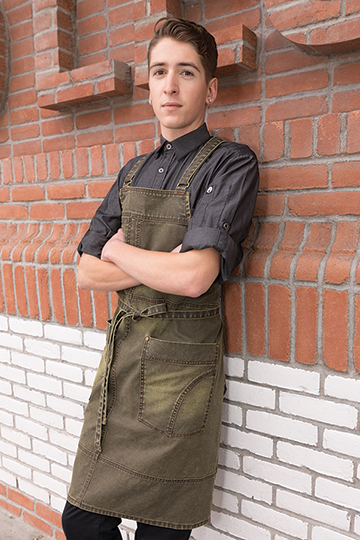 e6ba855aea6 Chambery Chef Coat.  28.99 · Warren Cross-Back Bib Apron