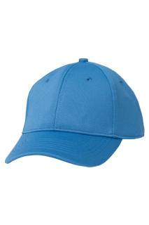 Cool Vent Color Baseball Cap: Blue - side view