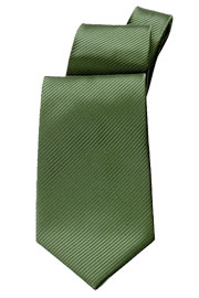 Solid Green Tie