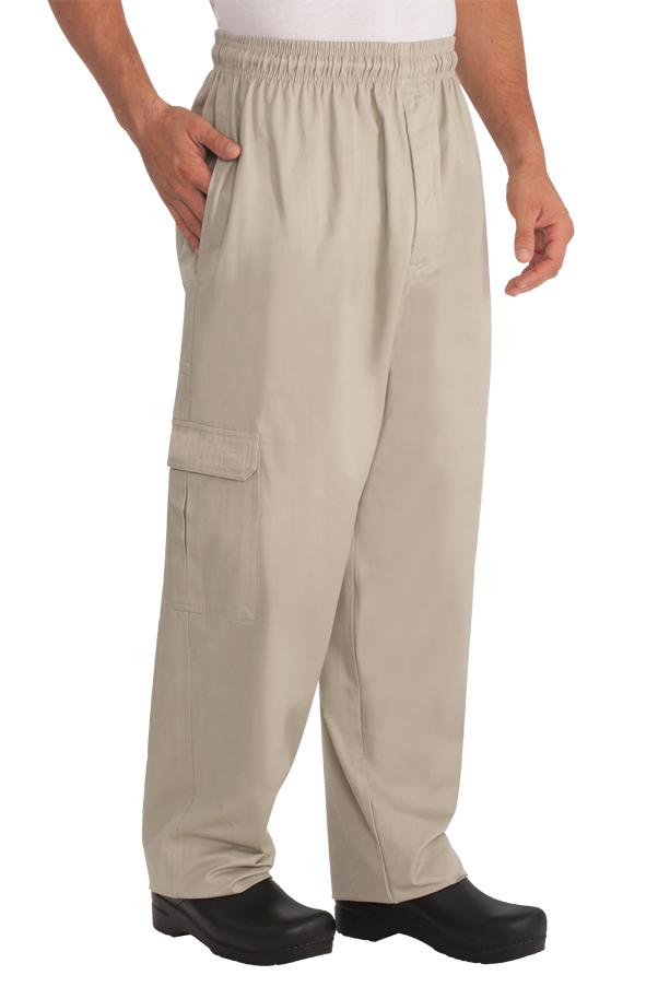 stone color khaki pants - Pi Pants