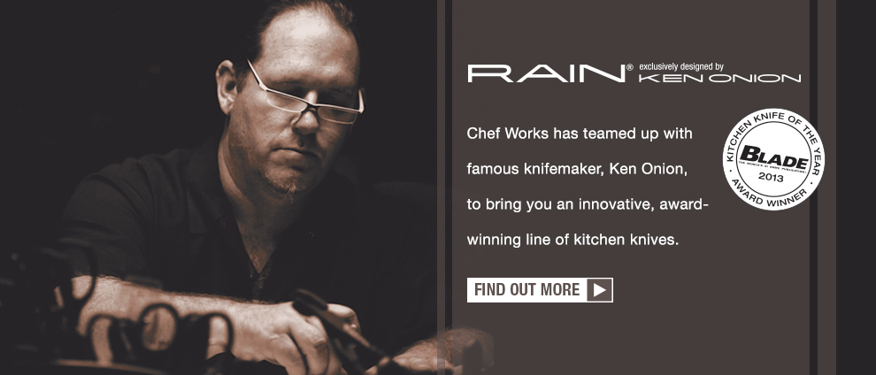 Learn more about the Ken Onion Rain Kitchen Knives