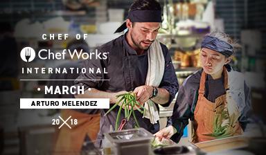 Chef of Chef Works International: Arturo Melendez