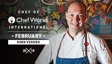 International Chef of Chef Works: Koen Vessies