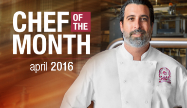 Chef Works April Chef of the Month
