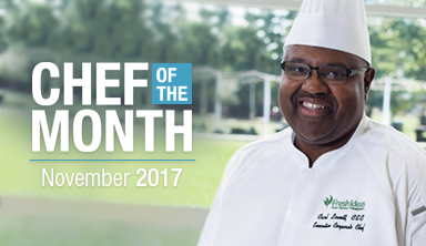 Chef of the Month: Carl Lovett