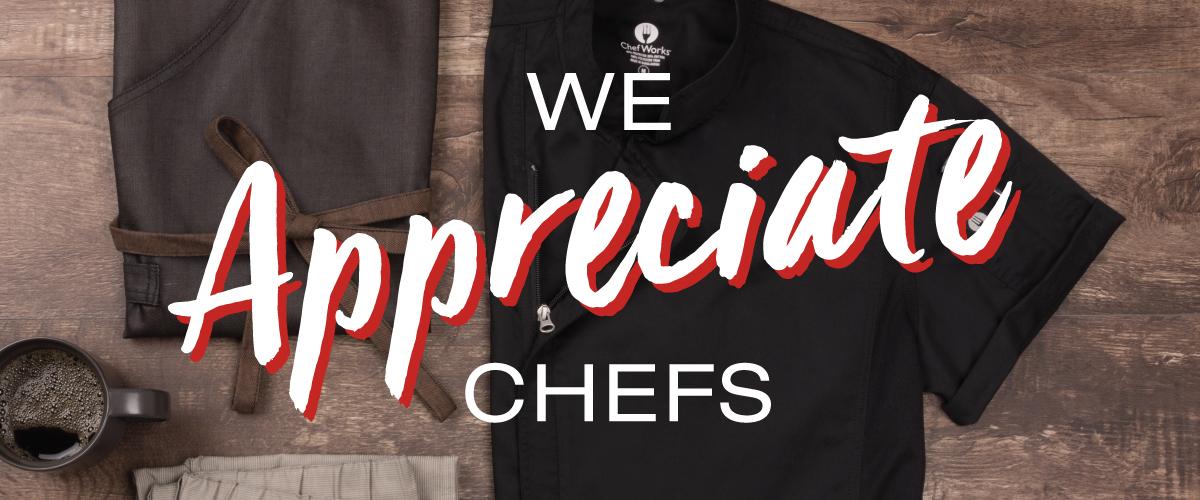 Chef Sppreciation Week 2018